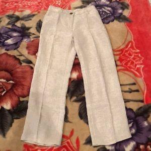 Chico's linen pants